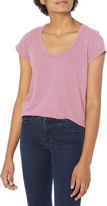Velvet by Graham & Spencer Women's Kira Scoopneck Tee