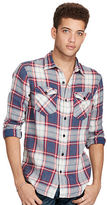 Denim & Supply Ralph Lauren Plaid Linen-Cotton Workshirt