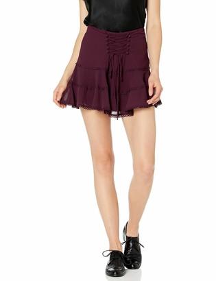 Bardot Women's Anna Flutter Skirt