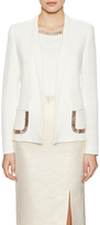 Escada Bodil Embellished Silk Jacket
