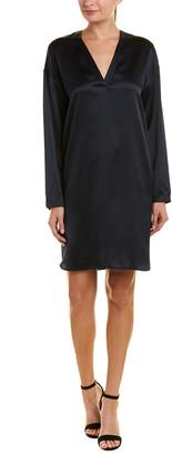 Vince Satin Silk Tunic Dress