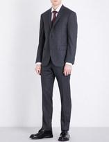 Corneliani Pinstriped academy-fit wool suit
