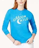 Kid Dangerous Cotton Moon Child Graphic Sweatshirt