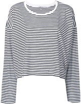 T By Alexander Wang - striped top