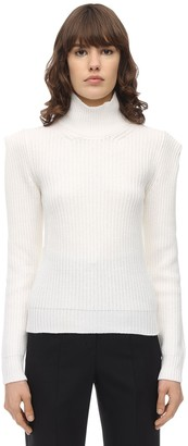 L'Autre Chose Wool Blend Knit Sweater