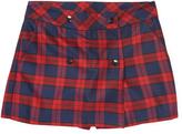 Jacadi Plaid Shorts-Skirt
