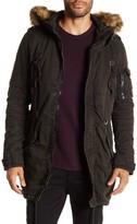 Rogue Faux Fur Trim Jacket