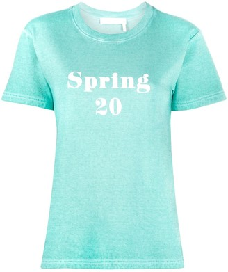 See by Chloe crew neck 'Spring 20' T-shirt