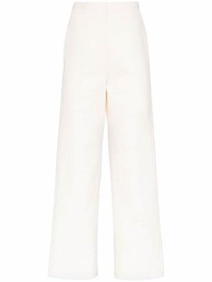 LVIR Stitches straight-leg trousers