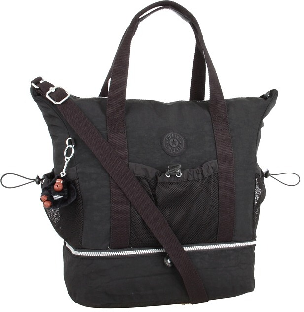 Kipling Gilian Tote (Black) - Bags and Luggage