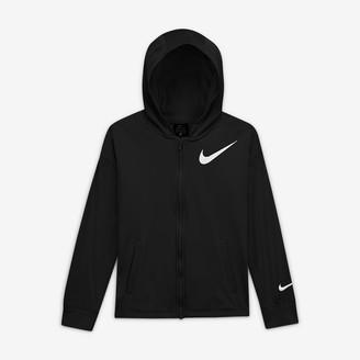 Nike Big Kids' (Girls') Full-Zip Hoodie Therma