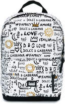 Dolce & Gabbana all-over print backpack