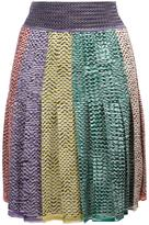 Missoni pleated skirt - women - Polyamide/Spandex/Elastane/Viscose - 42