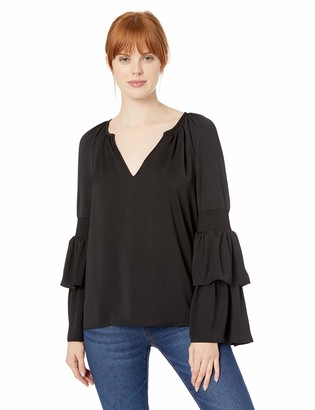 Ramy Brook Women's Lali Dramatic Sleeve Top
