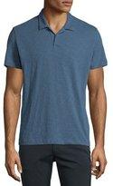 Theory Willem Nebulous Short-Sleeve Polo Shirt, Navy