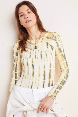 A Gold E Leila Tie-Dye Bodysuit By in Assorted Size M