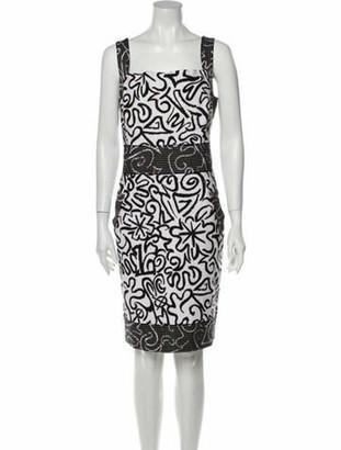 Oscar de la Renta 2013 Mini Dress White