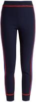 Joseph Slim-leg contrast-panel knitted trousers
