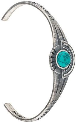 Nove25 Stone Detailed Cuff Bracelet