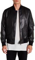 Y-3 Genuine Leather Bomber Jacket