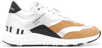 Barbara Bui branded low-top sneakers