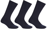 John Lewis Wool Rich Long Socks, Pack Of 3