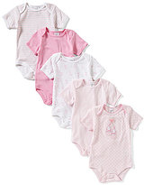 Starting Out Baby Girls Newborn-6 Months 5-Pack Ballet Bodysuits