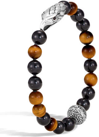 John Hardy Men's Legends Eagle Bead Bracelet