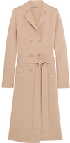 Bottega Veneta Double-breasted Wool-blend Coat - Beige