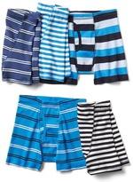 Gap Blue striped trunks (5-pack)
