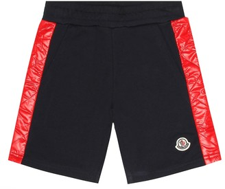 Moncler Enfant Cotton jersey shorts