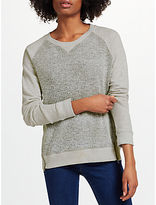 John Lewis Collection WEEKEND by Boucle Front Top, Grey