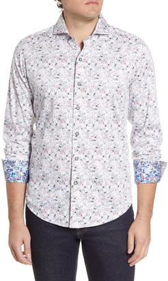 Robert Graham High Card Regular Fit Button-Up Shirt