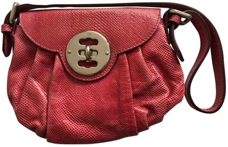 Mulberry Pink Exotic leathers Handbags
