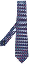 Salvatore Ferragamo elephant detail tie - men - Silk - One Size