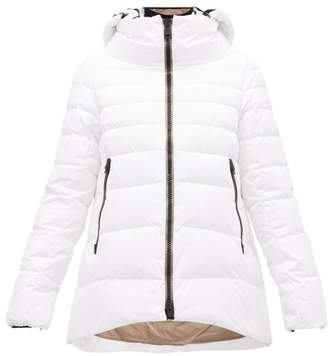 Herno Padded Shell Down Hooded Jacket - Womens - White