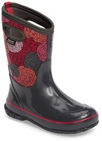Bogs Girl's Classic Rosey Waterproof Snow Boot