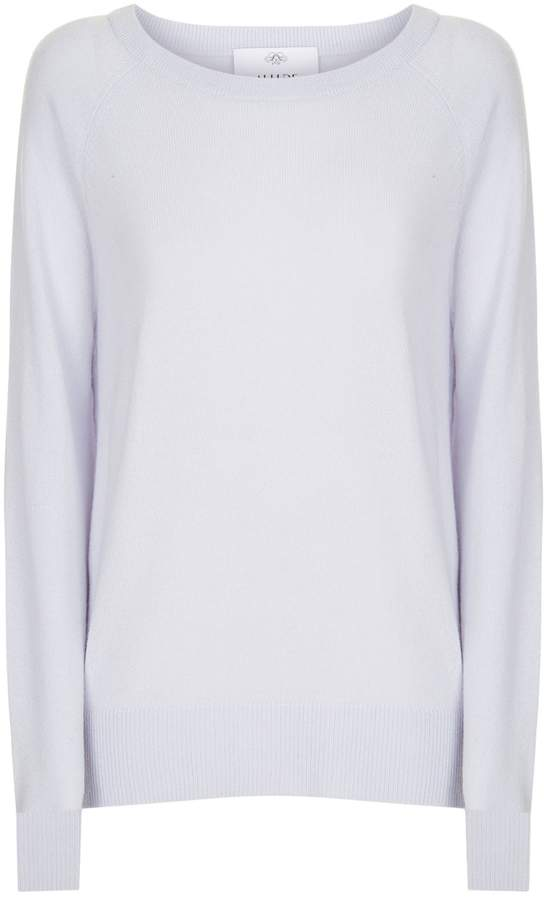 Allude Cashmere Ruffle Detail Sweater