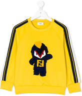 Fendi Monster patch sweatshirt
