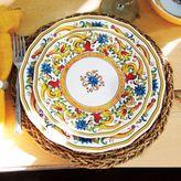 Sur La Table Floreale 12-Piece Dinnerware Set