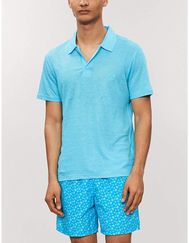 0255760ce6 Vilebrequin Blue Men's Polos - ShopStyle