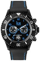 Ice Watch CH.BBE.B.S.14 Men's Chrono Drift Black dial with blue accents by