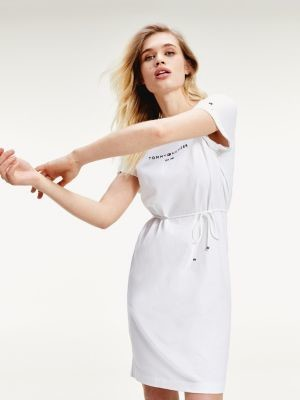 Tommy Hilfiger Essentials Logo Short Sleeve Dress