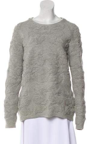 Alexander McQueen Textured Knit Sweater