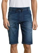 Diesel Kroo Washed Denim Shorts