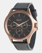 Roxy Womens Messenger 40mm Chronograph Leather Watch
