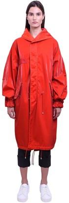 Mr & Mrs Italy Mr&Mrs Italy Long Cotton Velvet Tech Parka Coat