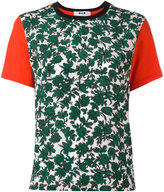 MSGM leaves print T-shirt - women - Cotton - XS