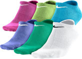 Nike 6-pk. Dri-FIT No-Show Socks - Girls