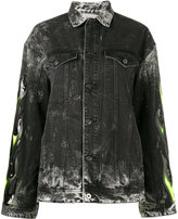 Filles a papa Renegade embellished denim jacket